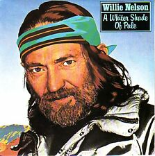 "WILLIE NELSON  A Whiter Shade Of Pale PICTURE SLEEVE 7"" 45 rpm record NEW"