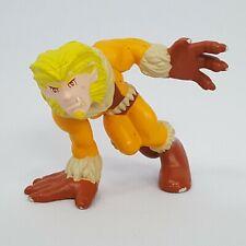 Marvel Super Hero Squad Sabretooth Action Figure X-Men Villain Orange Costume