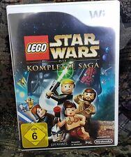Wii Spiel Lego Star Wars Die komplette Saga ohne Anleitung guter Zustand + OVP