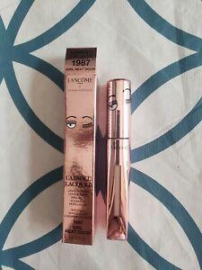 LANCÔME L'Absolu Lacquer buildable shin &color longwear lip color 1987 girl next