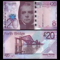 Scotland 20 pounds, 2009, P-126, banknote, UNC