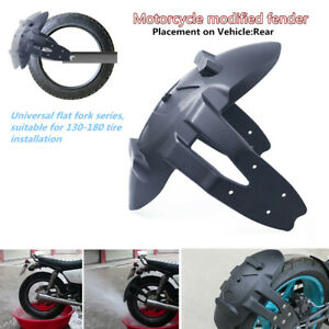 Motorcycle Rear Wheel Tires Fender Mud Guard flap Modified Mudguard Protection