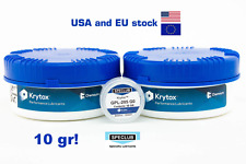 10 GR KRYTOX GPL-205 Grade 0 Switch Grease Lubricant linear switches 205g0