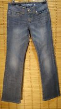 GUESS Jeans Size 26 Daredevil Boot Low Rise Dark Wash Women's Blue Jeans