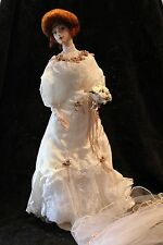 Franklin Mint Gibson Girl Anniversary BRIDE DOLL - GORGEOUS - WITH BOX