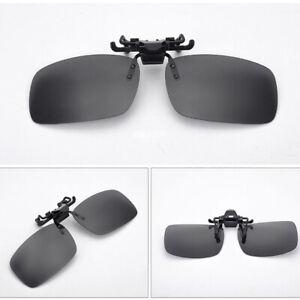 Sonnenbrille-Aufsatz Clip-on Sonnenschutz Brillen Aufsatz