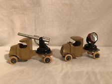 Tootsie Toy Army Truck Lot Set 1930's