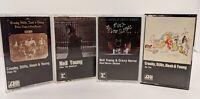 Neil young cassette lot  rare After the goldrush, deja vu,Rust Never Sleeps etc