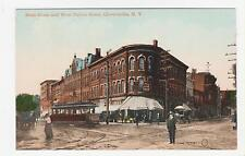 Gloversville,New York,Main Street West Fulton St.Trolley Car,Fulton Co.c.1909