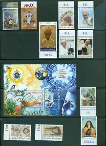 Vatican City 2020 Compete MNH Year Set