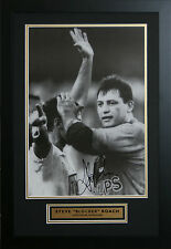 """""""Never Before, Never Again"""" signed by Steve """"Blocker' Roach Photo Proof"""