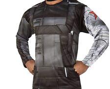 Marvel Avengers Winter Soldier Costume Top - Adult Regular (Large) - Rubies