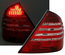 2 FEUX ARRIERE LED ROUGE BLANC CRISTAL MERCEDES CLASSE E W211 230