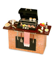 Reutter Porcelain Dolls House 1:12 Scale Barbecue