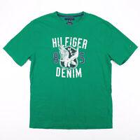 TOMMY HILFIGER  Green Classic Short Sleeve T-Shirt Mens 2XL