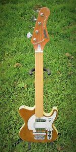 Jedson Bass Fretless Piccolo small-scale vintage custom unique natural / maple