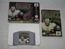 Bio monstruos con manual y el embalaje original ~ Nintendo 64 juego