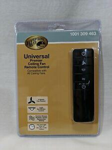 Hampton Bay Universal Premier Ceiling Fan Remote Control 1001 309 463 Dimmer