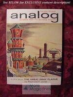 ANALOG February 1962 Raymond F. Jones J. F. Bone Neil Goble Sam Janet Argo