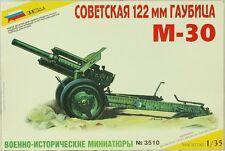 Zvezda 1:35 Soviet Howitzer 122mm M-30 Plastic Artillery Model Kit #3510U