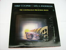 COOPER / ANDERSON - THE CONTINUOUS PREACHING BLUES - LP VINYL NEW 1985
