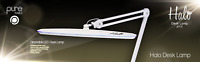 Pure Nails Halo Desk Lamp Pro LED -Gel Polish