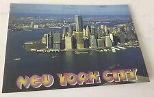 4X6 postcard New York Twin Towers  WTC World  Trade Center  Lower Manhattan