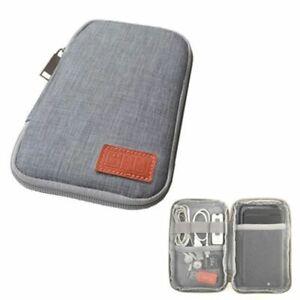 Electronic Digital Organizer Bag USB Cable Earphone Gadget Travel Storage Case