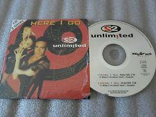 CD-S2 UNLIMITED-HERE I GO-J.P DE COSTER/A.DELS/P.WILDE/DANCE(CD SINGLE)95-2TRACK