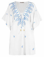 Marks and Spencer Women's Floral Hip Length Tunic, Kaftan Tops & Shirts