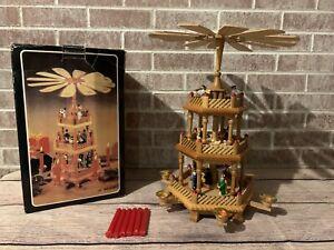 Lillian Vernon Christmas Windmill Carousel LV8996