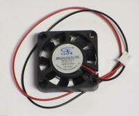 5pcs DC 12V 4010 Cooling Fan 40x40x10mm 2-Wire for PC Case Cooler with 1m cable