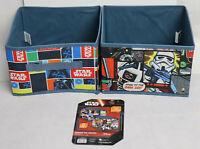 Star Wars Storage Cube Drawer / 27 x 27 x 18cm Pack of 2 - FREE POSTAGE