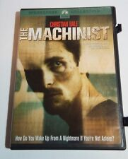 MACHINIST 2004 DVD Widescreen CULT LABOR Film ~ Christian Bale Mystery Movie