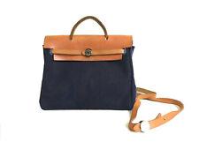 914ec2536cc45 HERMÈS Herbag BLAU KELLY Bag Tasche Handtasche