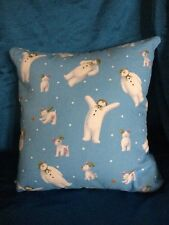 """The Snowman And The Snow Dog 16"""" Cushion Envelope Back"""