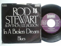 "Rod Stewart / In A Broken Dream 7"" Vinyl Single 1975 mit Schutzhülle"