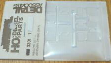 Detail Associates HO #3301 Window Set Athearn SW1500 (Clear Plastic)