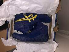 Asics Aggressor 4 Wrestling Shoes 9.5 blue/gold