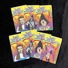 Wizard of Oz Plastic Trading Arcade Cards Dorothy Tinman Scarecrow Glenda Witch