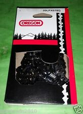 "1 Oregon chisel  20"" chainsaw chain .325 .050 78 DL H78 20lpx078g,20lpx078ck"