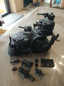 Orks, 1 chariot de guerre battlewagon monté warhammer 40k