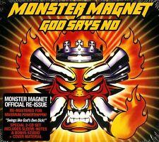 MONSTER MAGNET GOD SAYS NO DOPPIO CD DIGIPACK NUOVO SIGILLATO !!