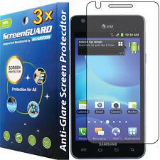 3x Anti-Glare LCD Screen Protector Guard Film ATT Samsung Galaxy S 2 II S2 i777