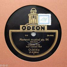 ODEON (rose) trio (rose, Liebrecht, wolf) - moment musical op.94/serenade