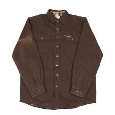 BNWT CARHARTT Thick Lined Overshirt   Work Workwear Vintage Jacket Popper Shirt