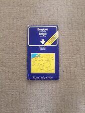 BELGIUM & LUXEMBURG ROAD MAP BY KUMMERLY & FREY
