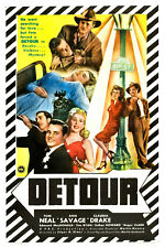 DETOUR 1945 Noir Crime Drama Movie Film PC iPhone INSTANT WATCH