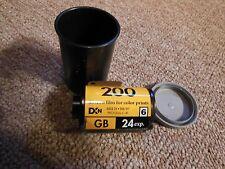 VINTAGE KODAK GOLD 35mm 200 SPEED COLOR FILM 24 FILM EXPOSURES
