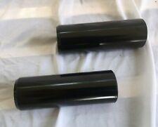 BMX Pegs 38mm 110mm  black Steel Pegs Black Pair Redline Free Agent